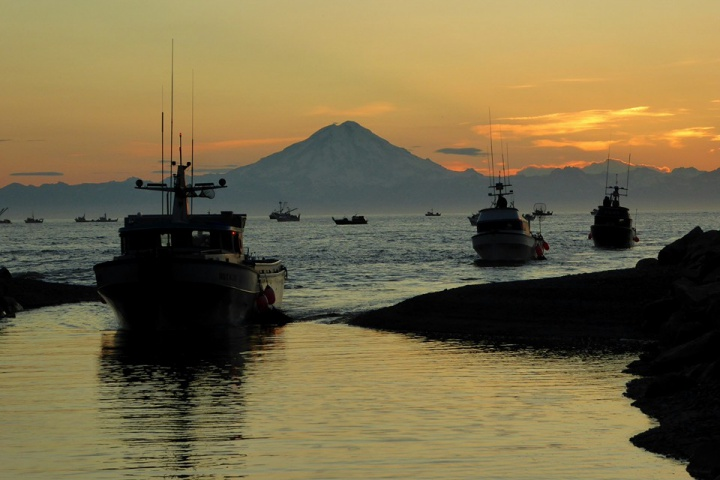 Cook Inlet fleet; Photo credit: Jamie McKellar