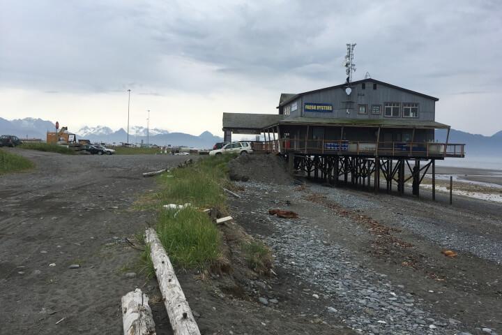 Mariculture coop building