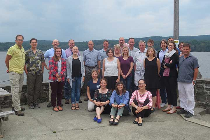 The project team and its stakeholder Advisory Committee (pictured here) used DaSH findings to develop watershed assessment tools to support dam removal permitting.