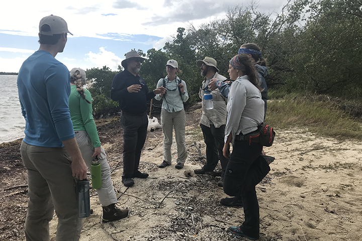 Project results will help reserve managers better understand and manage the causes of mangrove degradation. (Photo credit: Danielle Ogurcak)