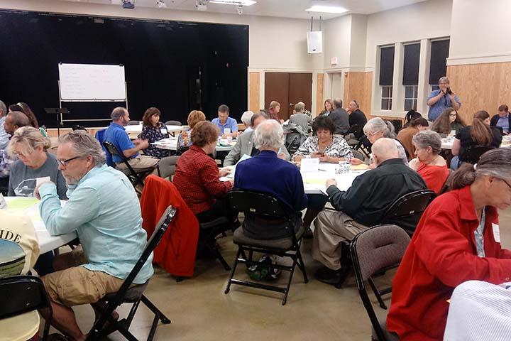 Role Play Scenario workshop in the Georgetown community