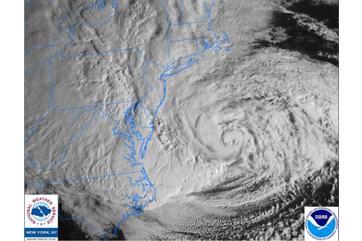 This project was shaped by experiences during Hurricane Sandy, an extremely destructive hurricane that made landfall in New Jersey in October 2012.