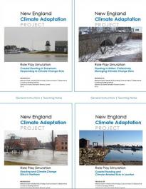 Publication covers for 8 documents (NECAP, 2014)