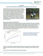 Sampling methods factsheet thumbnail