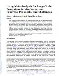 Johnston and Bauer, Agricultural and Resource Economics Review, 2019
